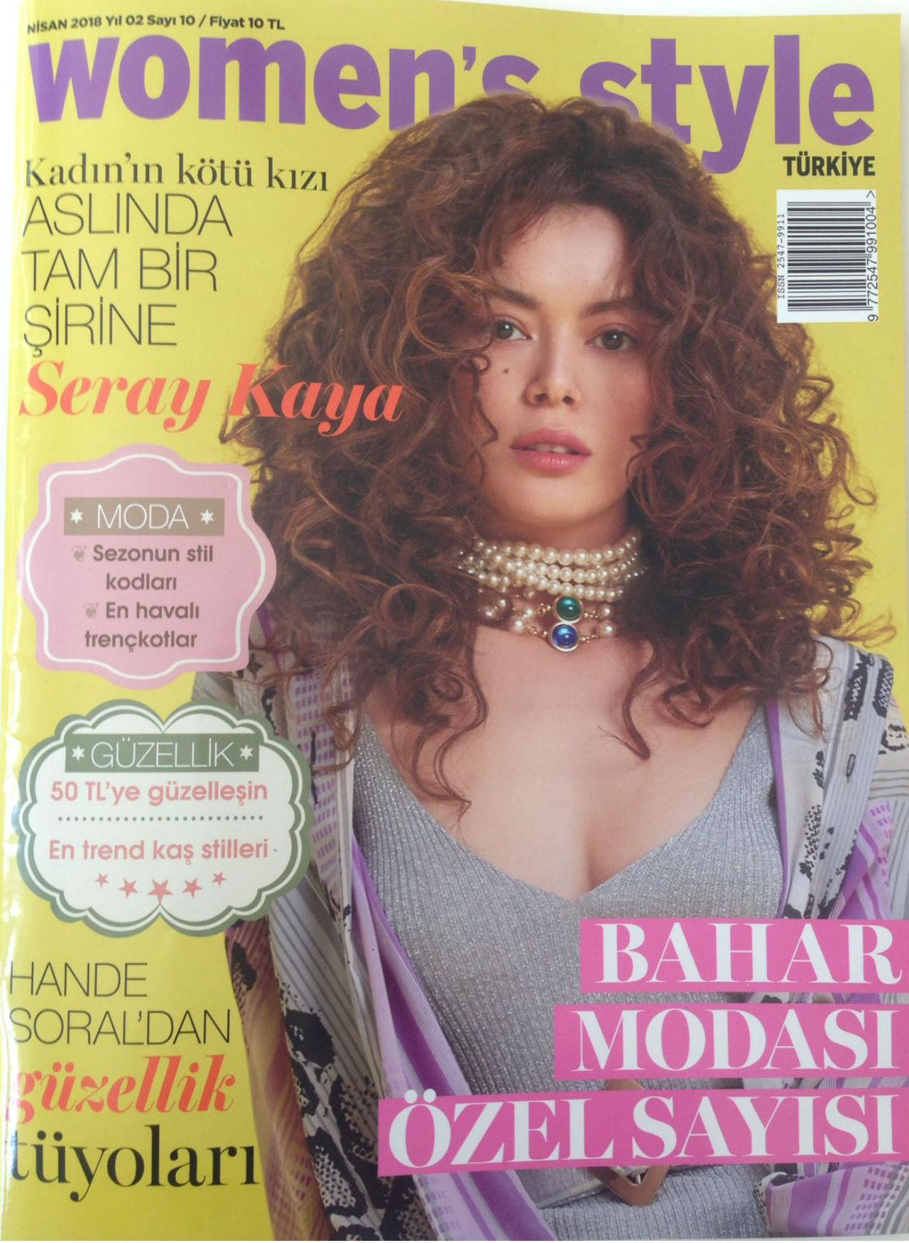 Seray Kaya Women's Style Dergisinin Nisan Sayısında!