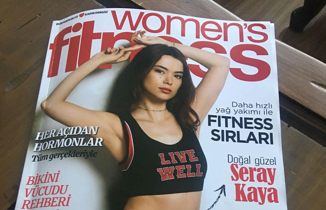 Seray Kaya Women's Fitness Haziran Sayısında